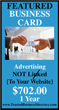 FEATURED Business Card Advertising